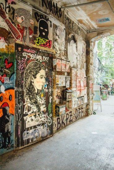Haus Schwarzenberg | Street Art Berlin, Stilnomaden