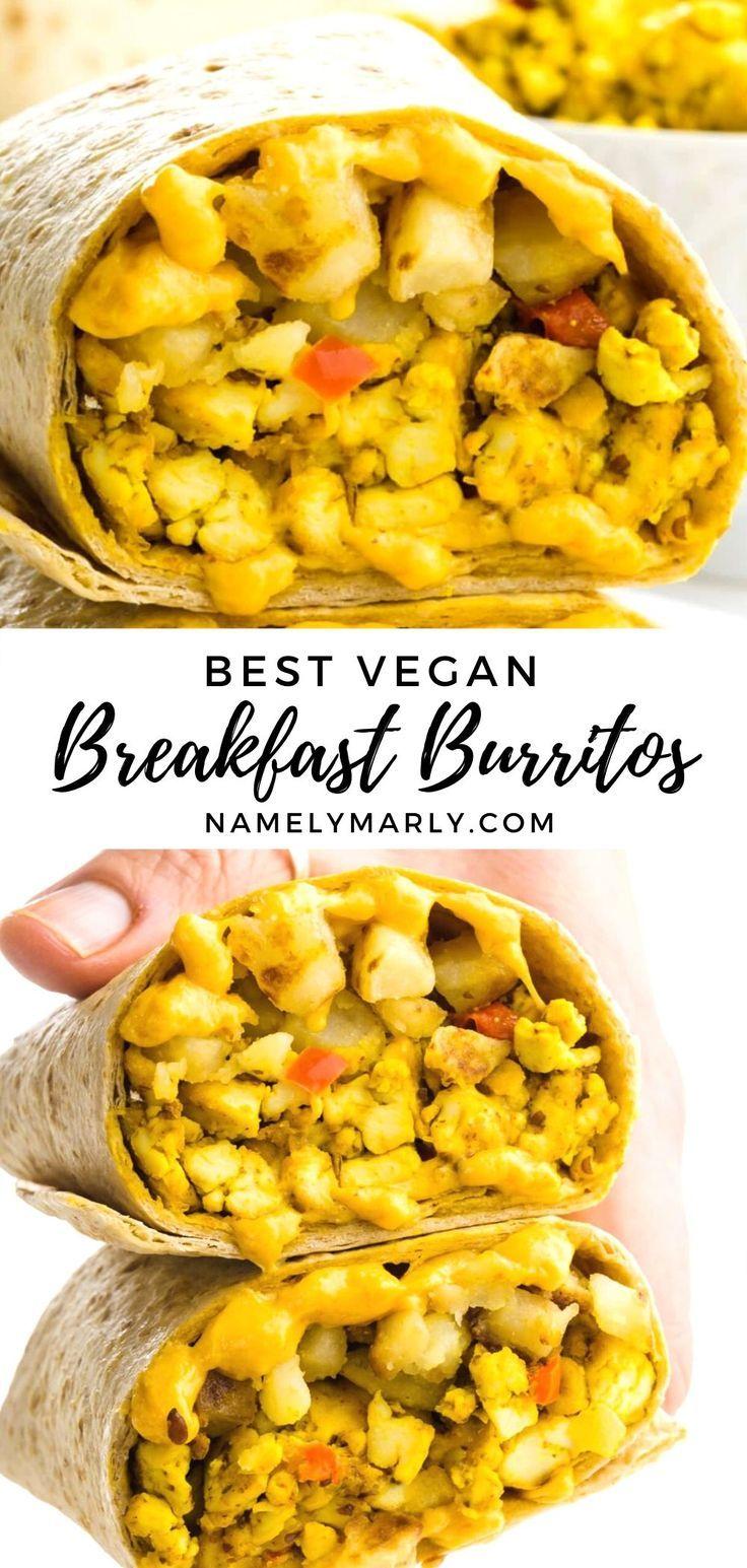 Best Vegan Breakfast Burritos In 2020 Vegan Breakfast Burrito Vegan Freezer Meals Vegan Breakfast Easy