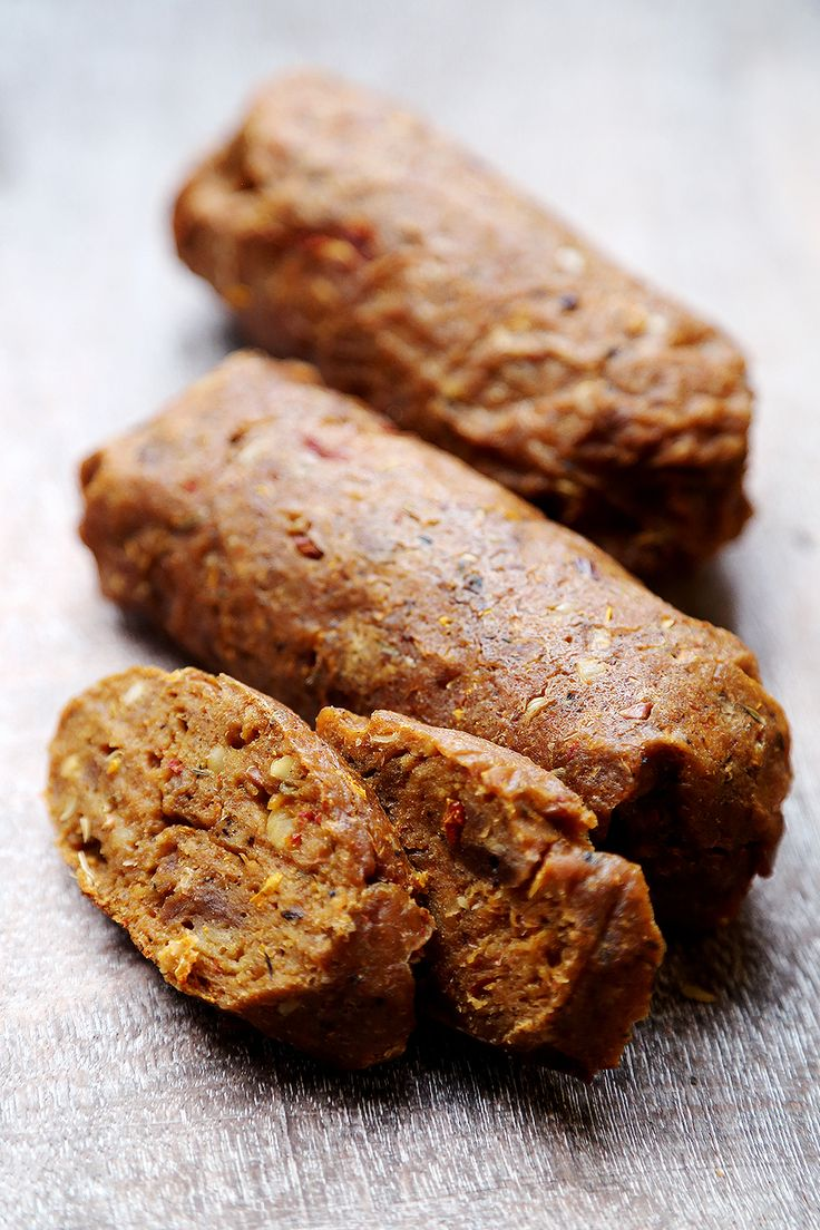 Vegan Sausage - Meat Substitutes, Recipes - Divine Healthy Food