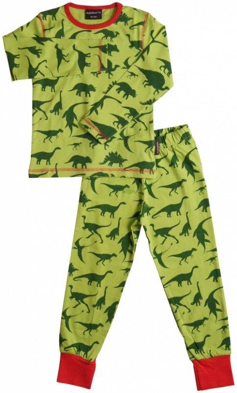 Pyjama Dinosaurus, deze staat onze Nio geweldig! Dank u sinterklaas :-).