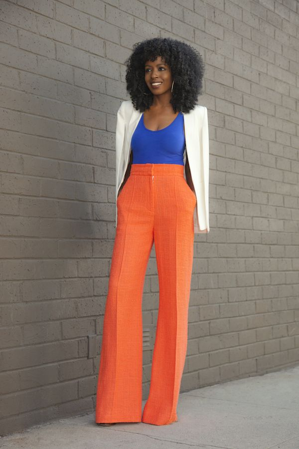25+ best ideas about Orange pants outfit on Pinterest | Orange jeans Coral pants and Coral jeans