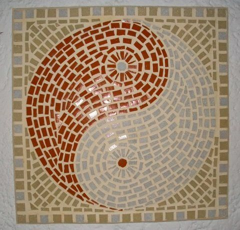 192 best images about mosaic on pinterest red flowers for Easy mosaic designs