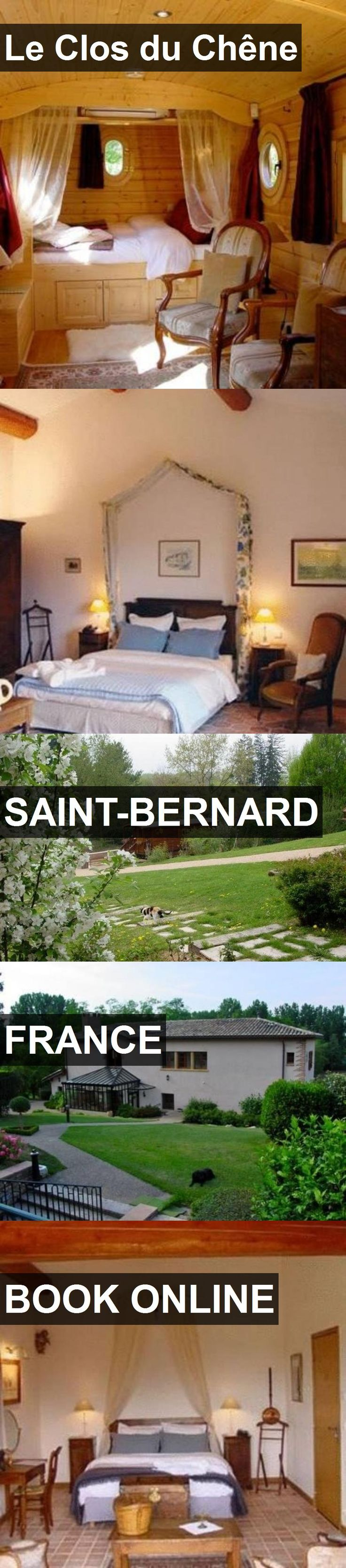 Hotel Le Clos du Chêne in Saint-Bernard, France. For more information, photos, reviews and best prices please follow the link. #France #Saint-Bernard #travel #vacation #hotel
