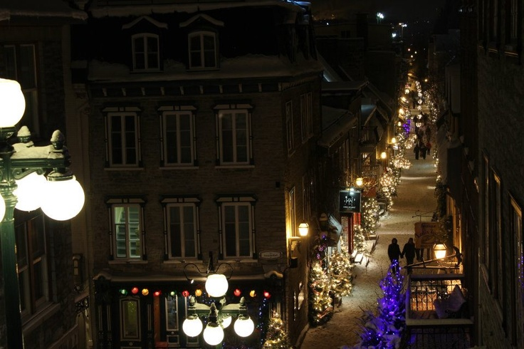 Let it snow. A magical walk in Quebec