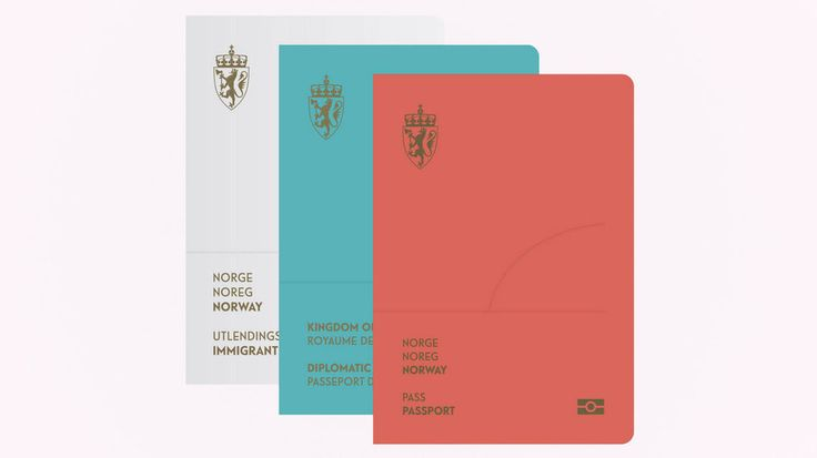 "Norway's government asked designers to submit concepts for a redesigned passport, and Neue Design Studio won with ""The Norwegian landscape."""