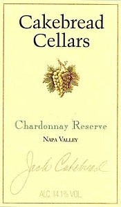 Cakebread Chardonnay Reserve - last bottle from our Napa trip