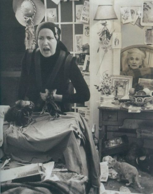 Grey Gardens....great picture of crazy Edie with her mother ever present.