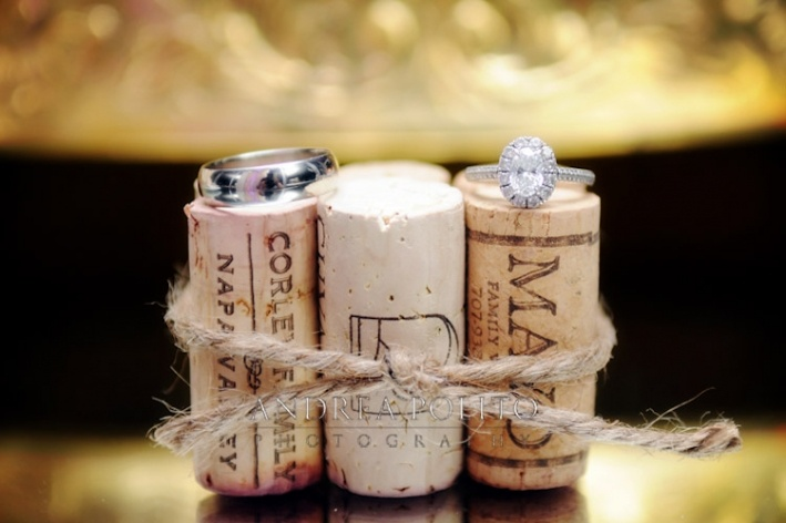 Andrea Polito Photography #WeddingRings #Wine #Wedding #Marriage