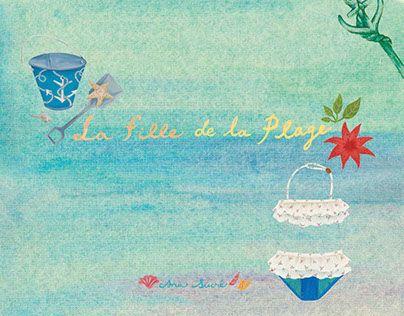 "Check out new work on my @Behance portfolio: ""Ana Sucré: La fille de la plage"" http://on.be.net/1OtgxEF"