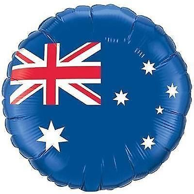 Australian flag design #round foil balloon 45cm - australian #party #supplies, View more on the LINK: http://www.zeppy.io/product/gb/2/220888104751/