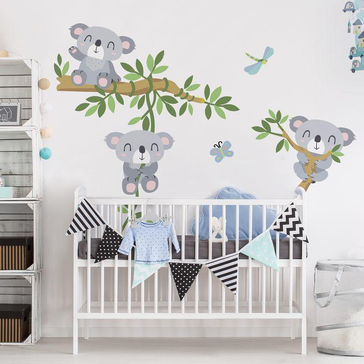 49 Best Kinderzimmer Ideen | Illustrierte Wanddeko Illustrationen