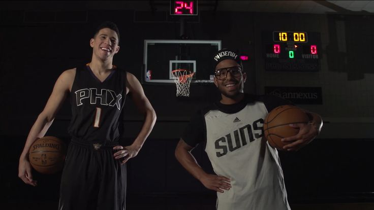 Devin Booker and Futuristic Behind the Scenes • ITS GOTTA BE THE SHOES • Commercial