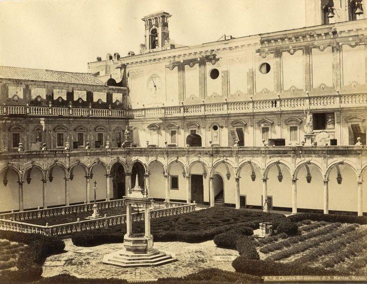 The monastery Certosa di San Martino