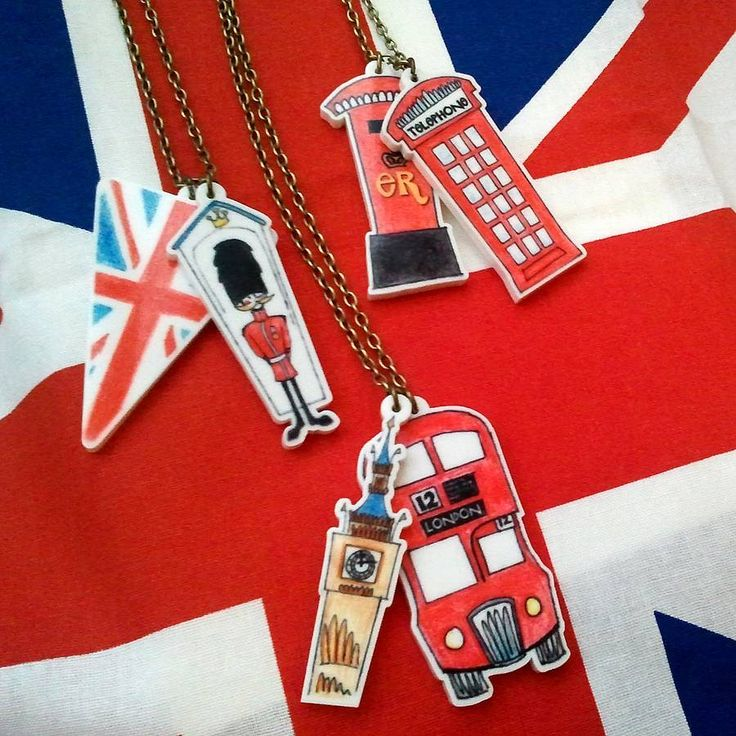 Our new Jubilee Necklaces - available now at www.notonthehighstreet.com/hartandbloom - perfect for a Jubilee street party or cheering on Team GB at the Olympics...wear a British icon with pride in Summer 2012!