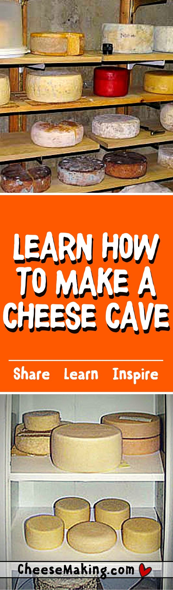 Learn how to make a cheese 'cave' right at home. If you want your cheese to ripen properly you have to make them a good home and take care of them like little bambinos.