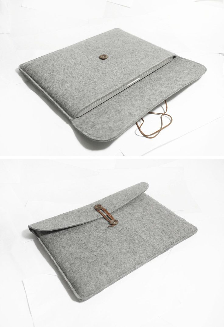 "Macbook pro 15"" Retina Macbook Sleeve Wool Felt Custom Made Felt Case Cover Bag for Macbook pro 15""Retina -B20371. $31.00, via Etsy."