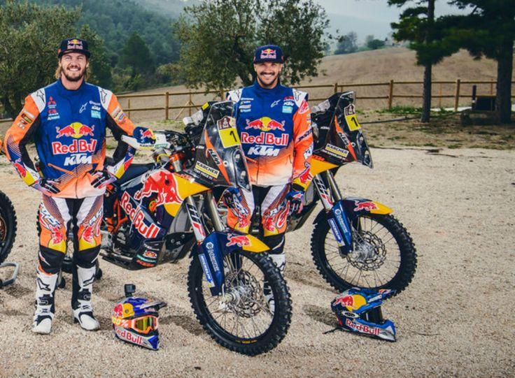 Dakar: Toby Price e Sam Sunderland renovam contrato com a KTM