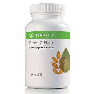 Fiber&Herb #Herbalife  Principais Benefícios É uma forma prática de complementar as necessidades de fibras do organismo; Tem 1,9 g de fibra por porção; Praticamente não adiciona calorias à dieta (2,17 kcal/tablete); Tem exclusiva combinação de fibras e vegetais; Contém fibras insolúveis, importantes para o funcionamento do intestino.