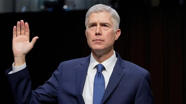 Neil Gorsuch confirmed by Senate as US Supreme Court justice BlackHouse, Apr. 08 – US President Donald Trump's Supreme Court nominee has been confirmed after Republicans approved a rule change over choosing him as the head of the Supreme Court despite furious Democratic objections. Senate Majority Leader Mitch McConnell said on Friday that Judge... https://bh-news.net/2oN1kLJ