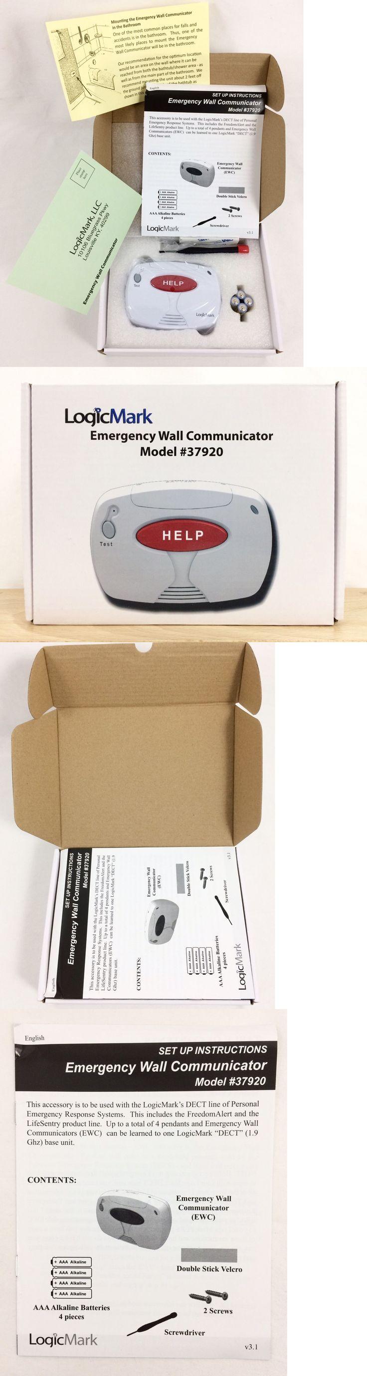 Emergency Alert Systems: Logicmark 37920 Freedom Alert Emergency Wall Communicator Two-Way New! -> BUY IT NOW ONLY: $54.99 on eBay!