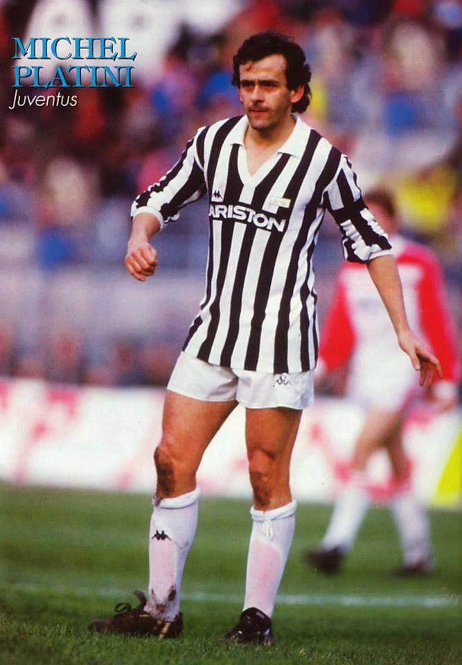 MICHEL PLATINI. Juventus.