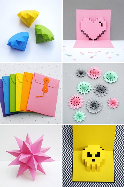 DIY Paper decorations by Mini-eco