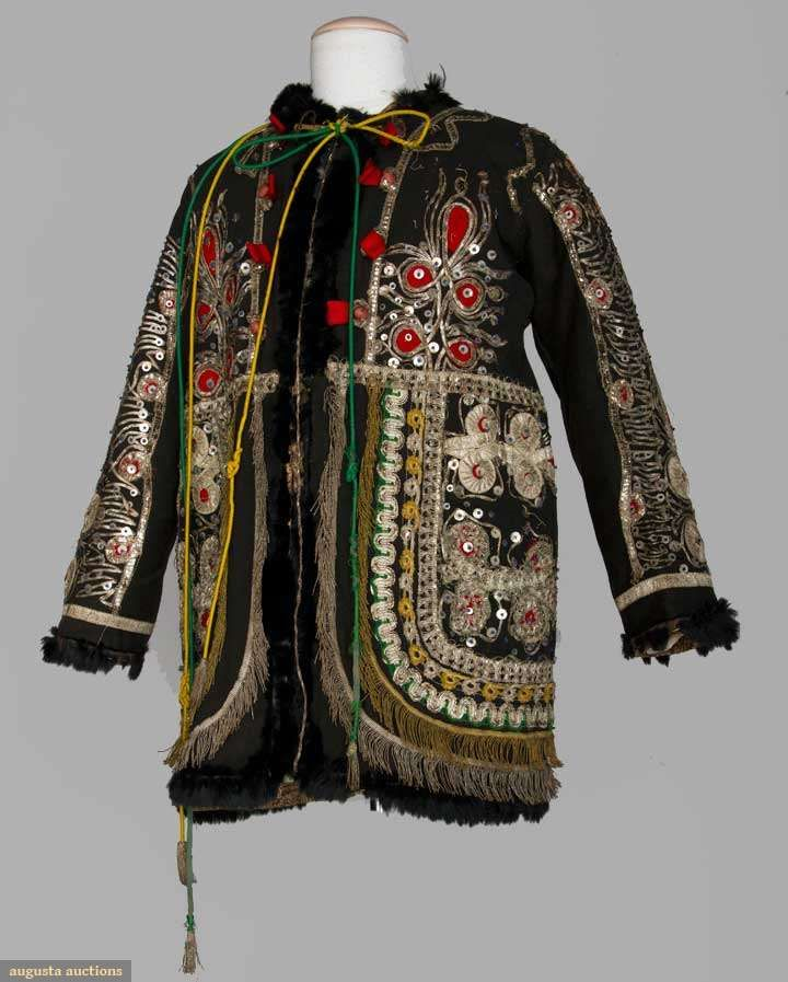 Man's Regional Coat, Romania, 19th C, Augusta Auctions, April 17, 2013 - NYC, Lot 120