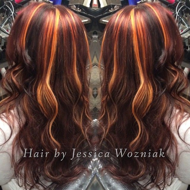 The 25 best red hair with lowlights ideas on pinterest fall red hair with highlights and lowlights google search urmus Gallery