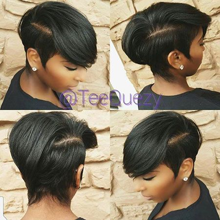 Short Hairstyles for Black Women - 10-