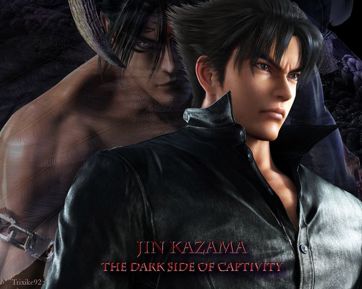JIN KAZAMA_The Dark Side of Captivity by Trixike92.deviantart.com on @deviantART