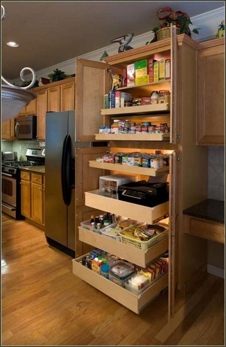 40 diy ideas kitchen cabinet organizers kitchen cabinet design pantry cabinet free standing on kitchen organization diy id=66273