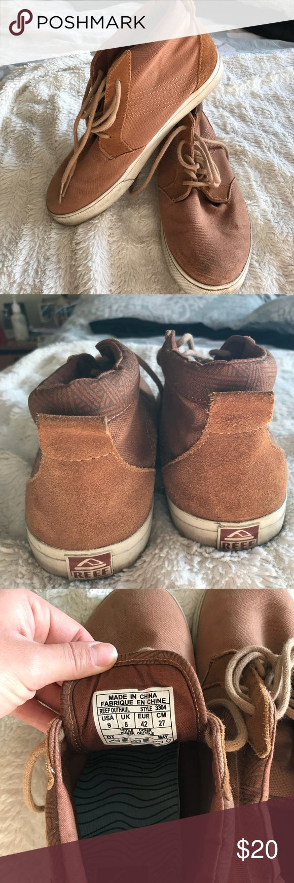 EUC reef men's shoe Size 9 reef shoes only worn a couple of times Reef Shoes Sneakers