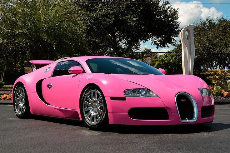 Flo Rida's Pink Bugatti Veyron | Bugatti Wheelzz | Bugatti ...