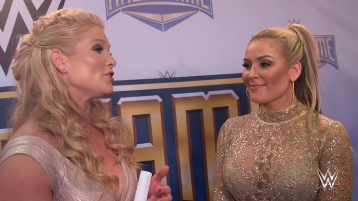 "EXCLUSIVE: ""Everything was so special because it was with you!"" Beth Phoenix thanks Natalya for inducting her in the WWE Hall of Fame."