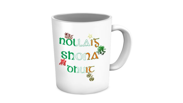 """* JUST RELEASED *""""Nollaig Shona Dhuit"""" is the Irish for """"Happy Christmas To You.""""This mug makes a perfect gift for anyone with Irish heritage and will be treasured all year round. #irishgift #giftidea #irishchristmas"""
