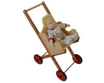 Cochecito de muñecas-carrito-carro de muñeca por AToymakersDaughter