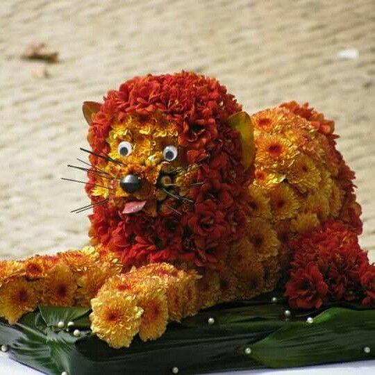 Um cliente pediu--nos um leãozinho 3D para uma inauguração e este foi o resultado final!!!
