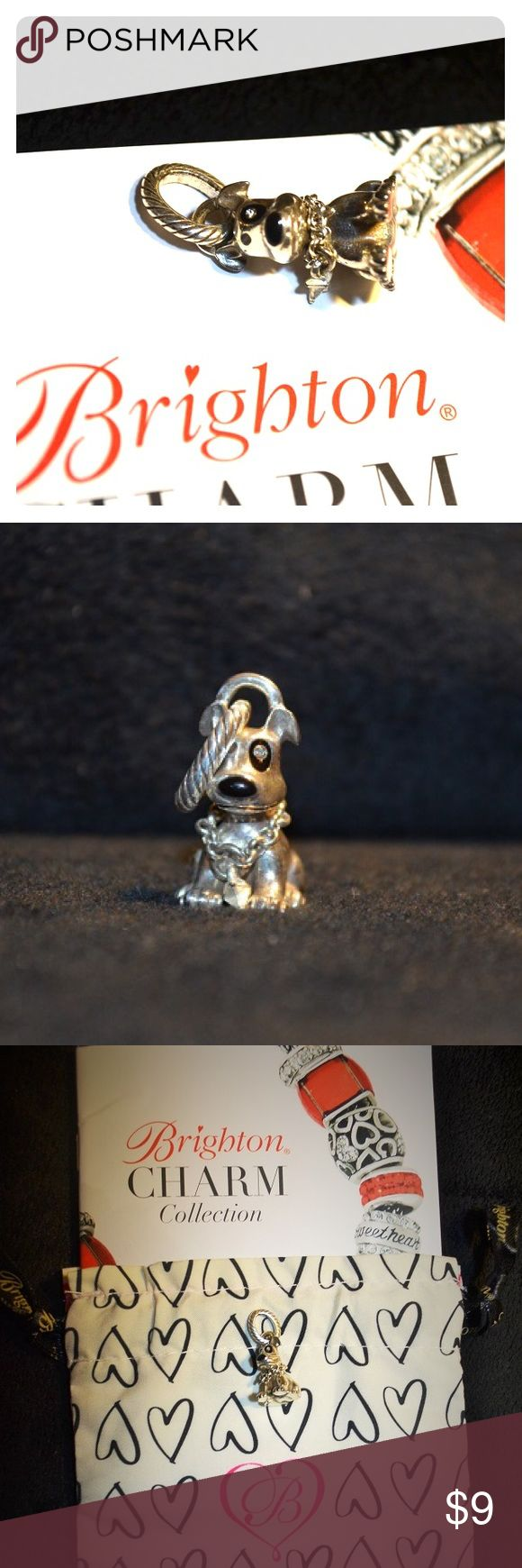 Brighton dog charm Brighton dog charm. Comes with Brighton drawstring bag & booklet. Jewelry