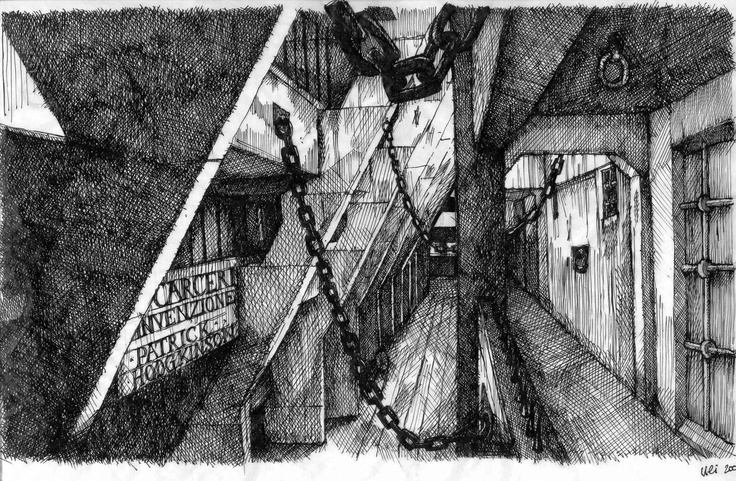 Brunswick Centre through the eyes of Piranesi