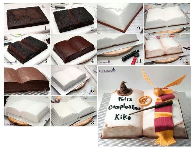 Harry potter cake - For all your decorating supplies, please visit craftcompany.co.uk