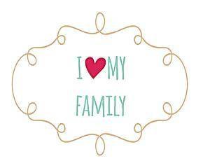I love my family  Lo más importante de un #hogar es la #familia que lo habita