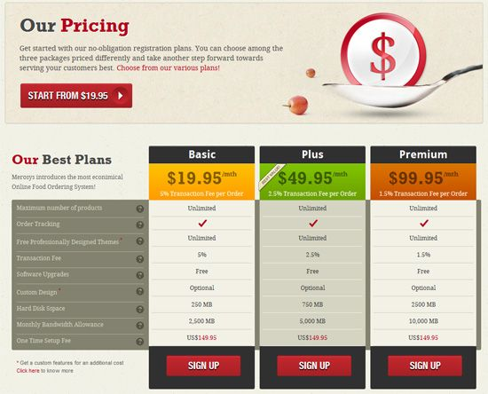 17 best images about pricing on pinterest invoice for Pricing table design