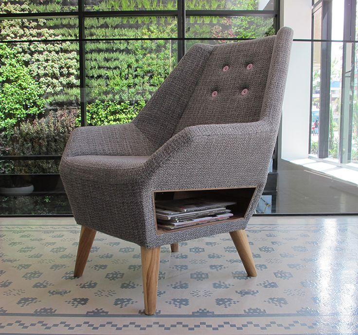 La Sabanera chair by ODA & DOSUNO Design.  Decoration, home, cool, space, modern, furniture design, hotel, click clack, green wall.