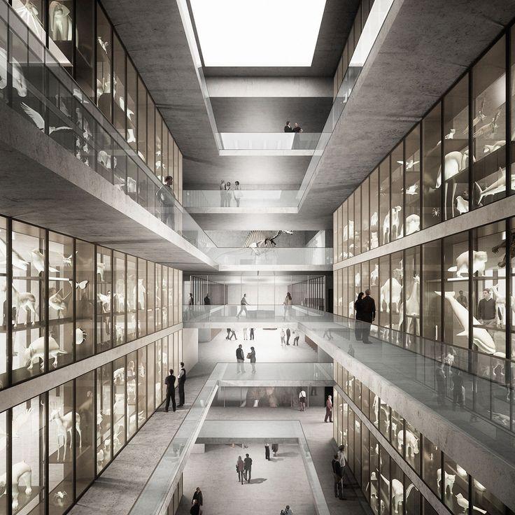 EM2N gewinnen Wettbewerb in Basel / Neubau für Naturhistorisches Museum und Staatsarchiv - Architektur und Architekten - News / Meldungen / Nachrichten - BauNetz.de