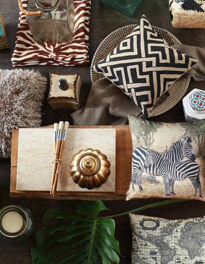 Nos encanta el #animalprint, un #clásico que nunca pasa de moda! <3 #NuevaColonial #Homy #Decoración #Cojines #Cebra