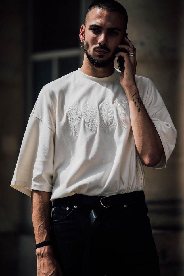 Street Style at Paris Menswear Week Spring/Summer 2018 Photo: Jonathan Daniel Pryce