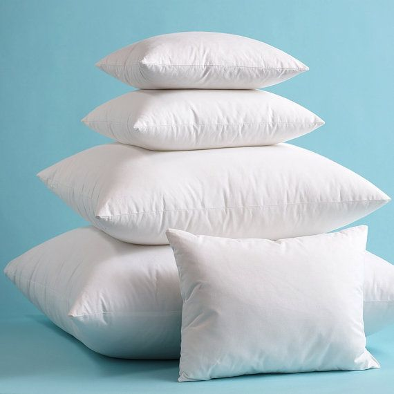 Indoor Outdoor Pillow Inserts Pillow Form Pillow Stuffing High Quality  Hypoallergenic Polyester Fiber Fill