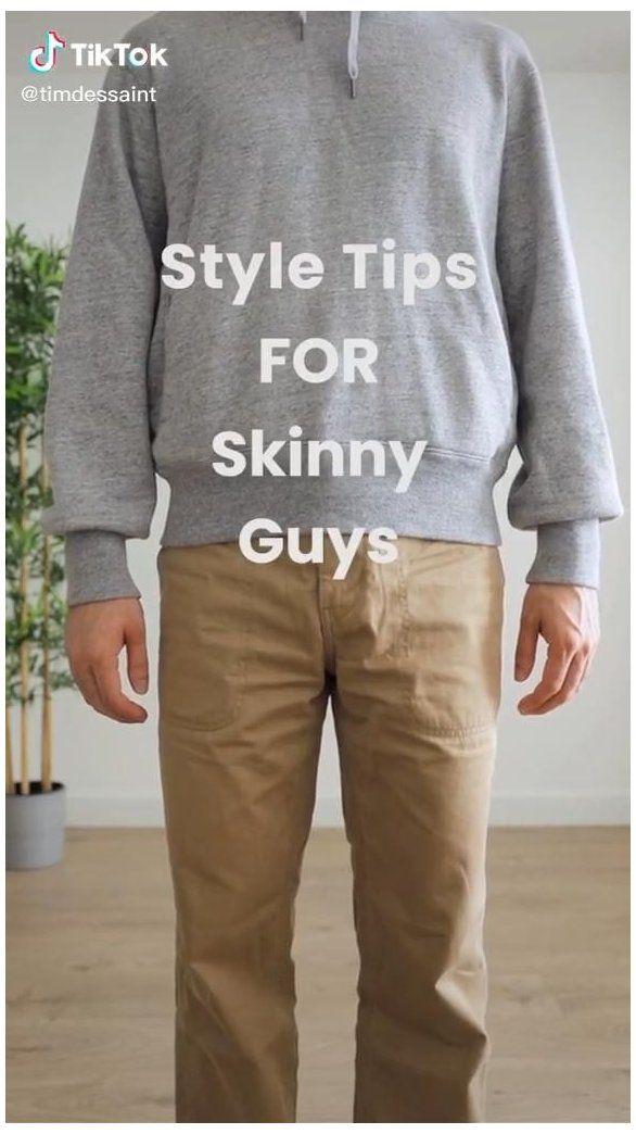 Easy Style Tips For Skinny Guys Men S Fashion Tiktok Asian Men Fashion Suit Asianmenfashionsuit In 2021 Guys Fashion Casual Skinny Guys Minimalist Fashion Men