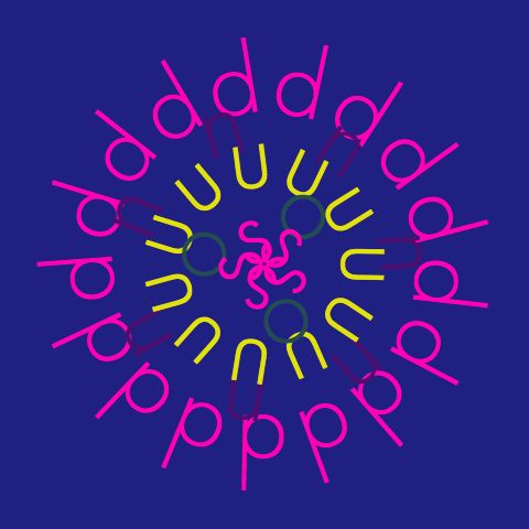 """sound"" from kotobana / flower / typography / web design"