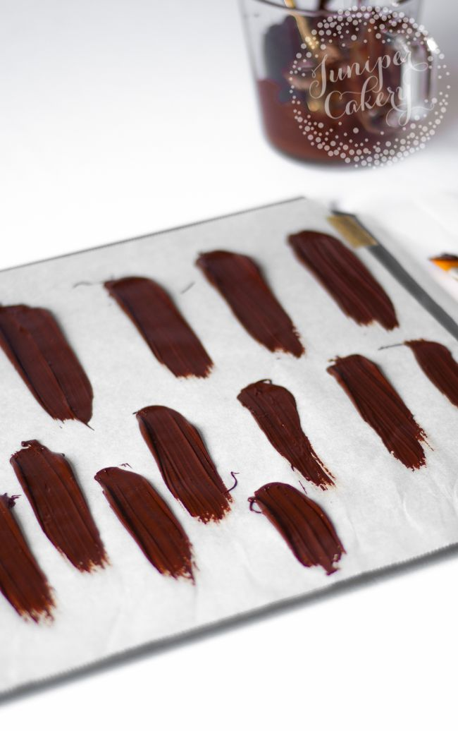 Have you spotted the latest cake trend? Learn how to make a brushstroke cake that steals the show with candy melts or tempered chocolate.